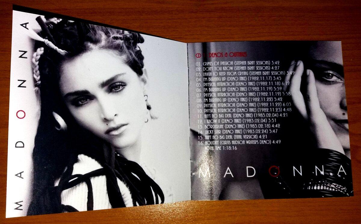 Madonna - The First Album (Genesis & Legacy Edition) 4CD