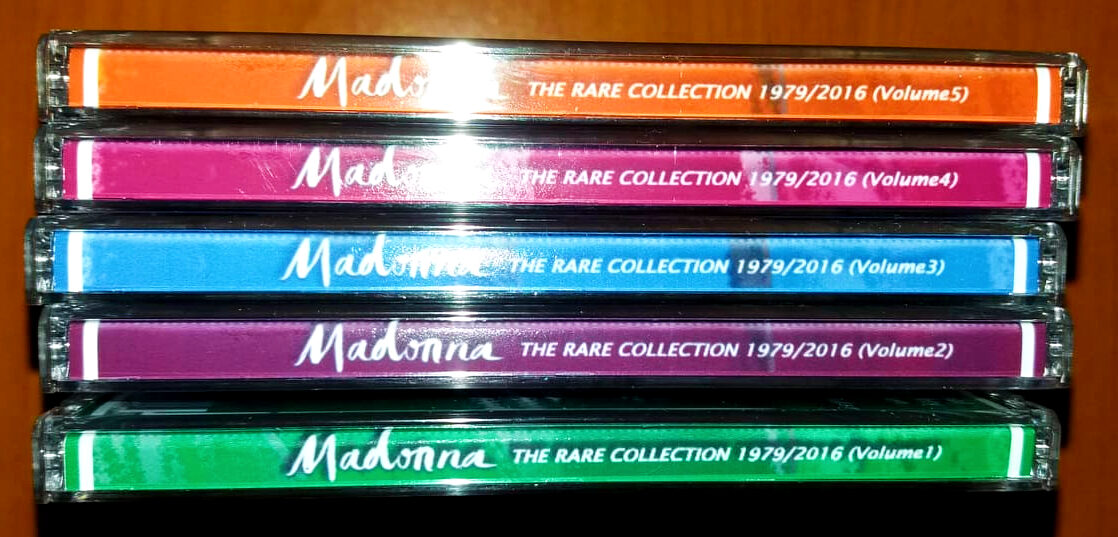 Madonna - The Rare Collection 1979 - 2016 (B-sides & Unreleased) 5 CD Set