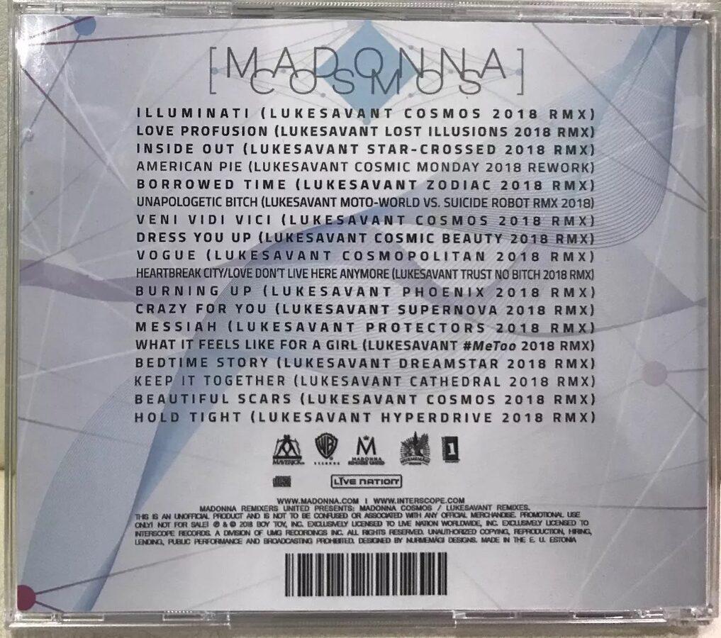 Madonna - Cosmos 2CD