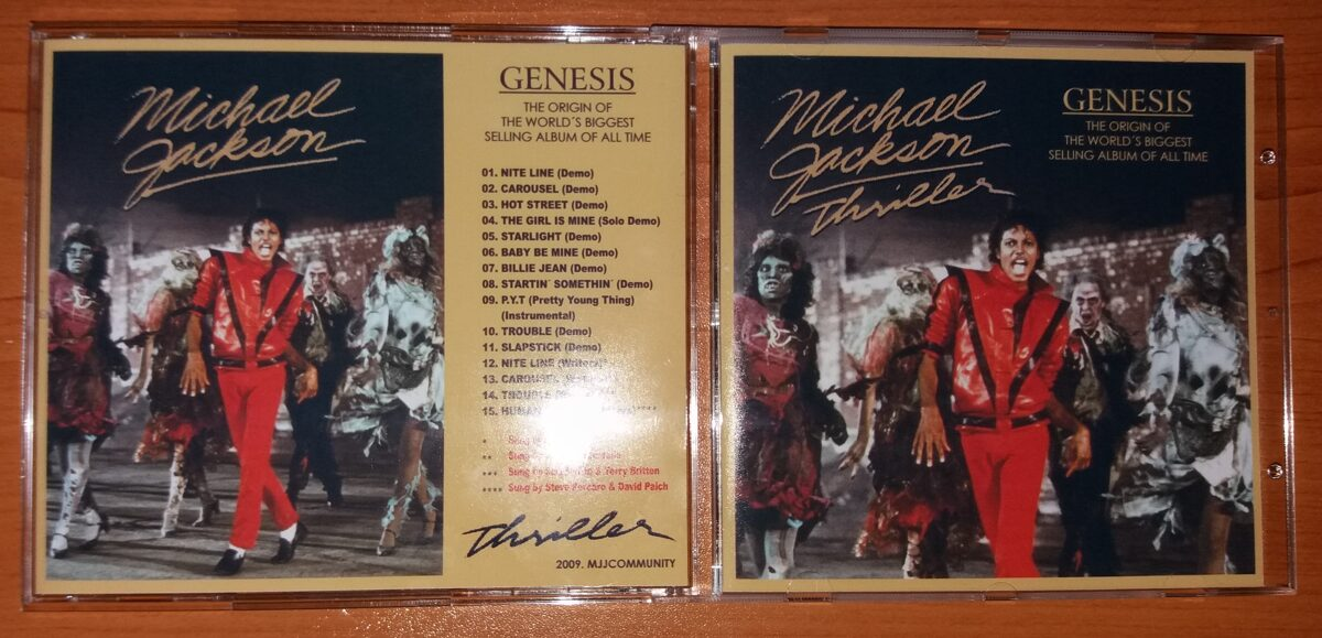 Michael Jackson - Thriller Genesis
