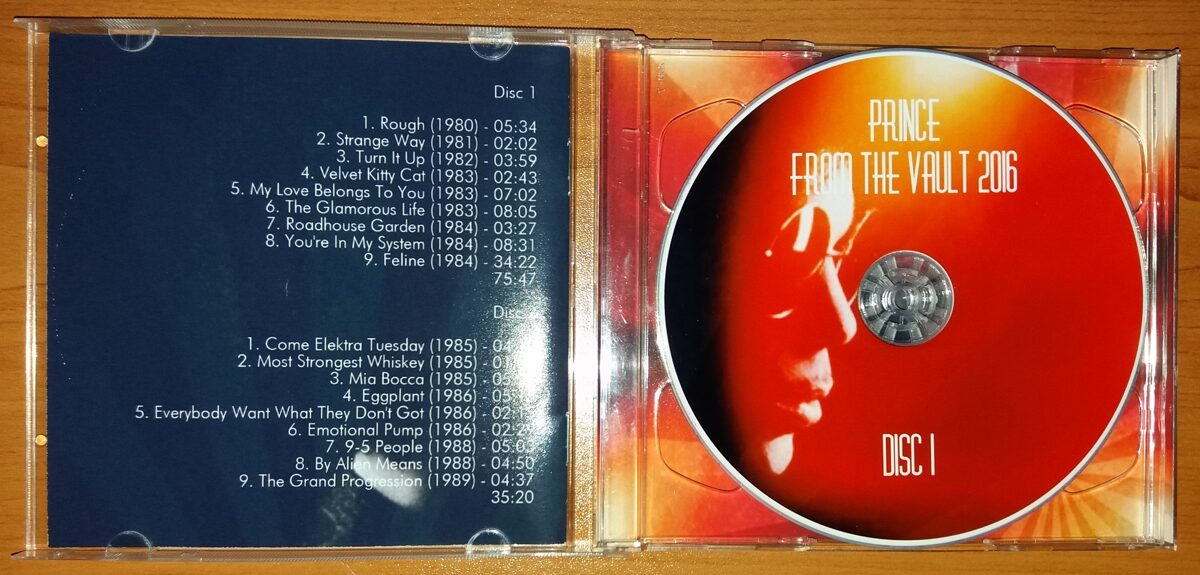 Prince - From The Vault 2016 2CD