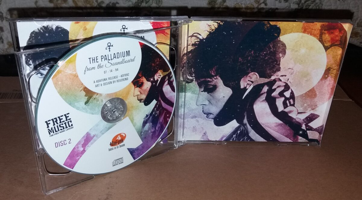Prince - Palladium From The Soundboard 2CD