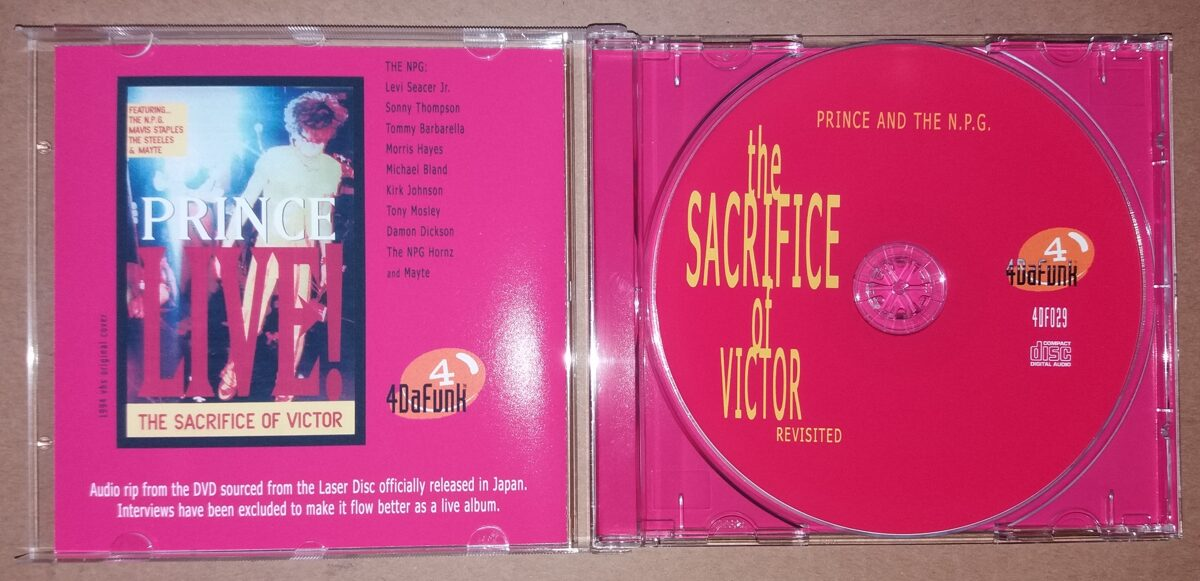 Prince - The Sacrifice Of Victor Revisited
