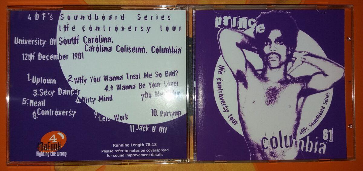 Prince - Columbia '81