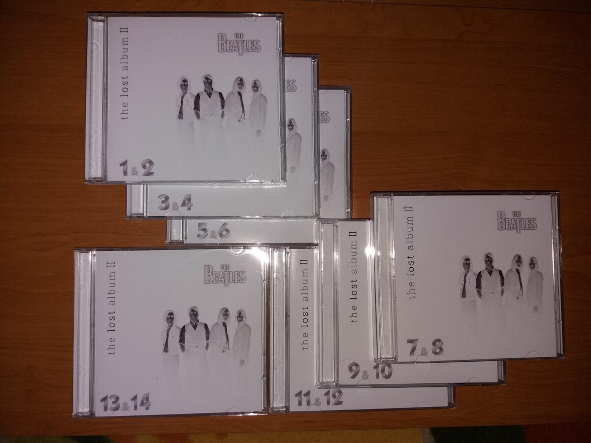 Beatles - Lost Album II 7 x 2CD