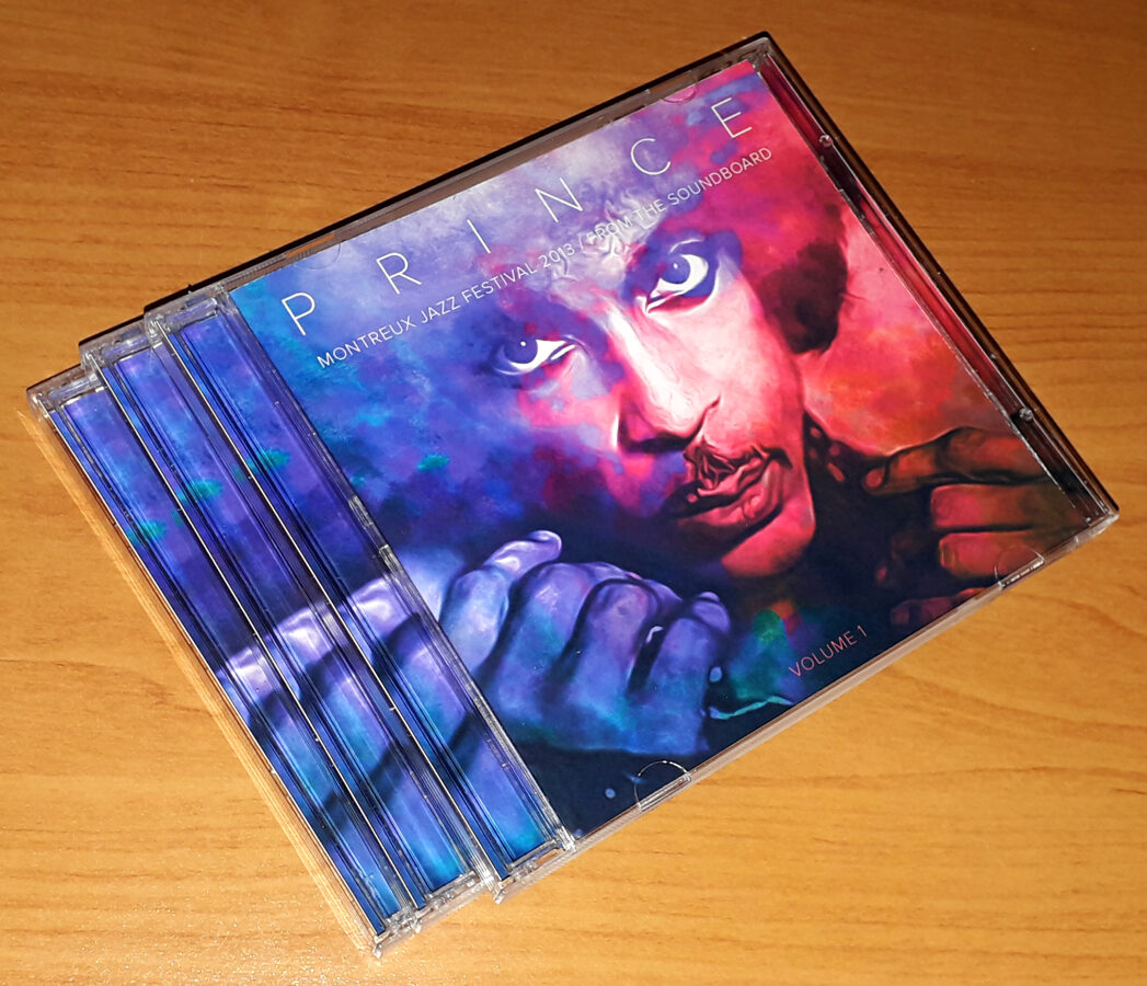 Prince - Montreux 2013 From the Soundboard Vol 1, 2 and 3 3 x 2CD