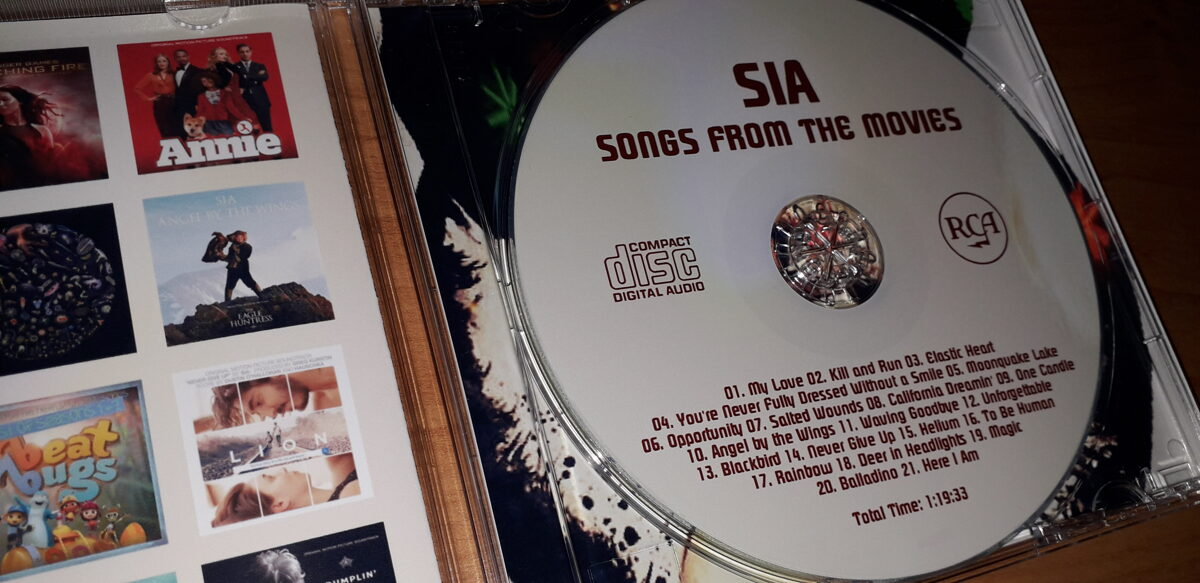 Sia - Songs From the Movies