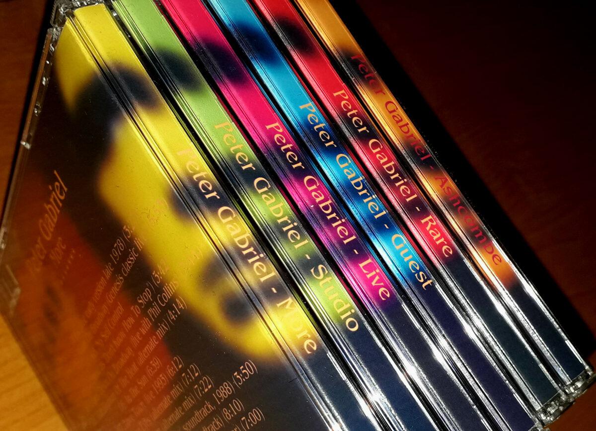 Peter Gabriel - Rare 6CD Set