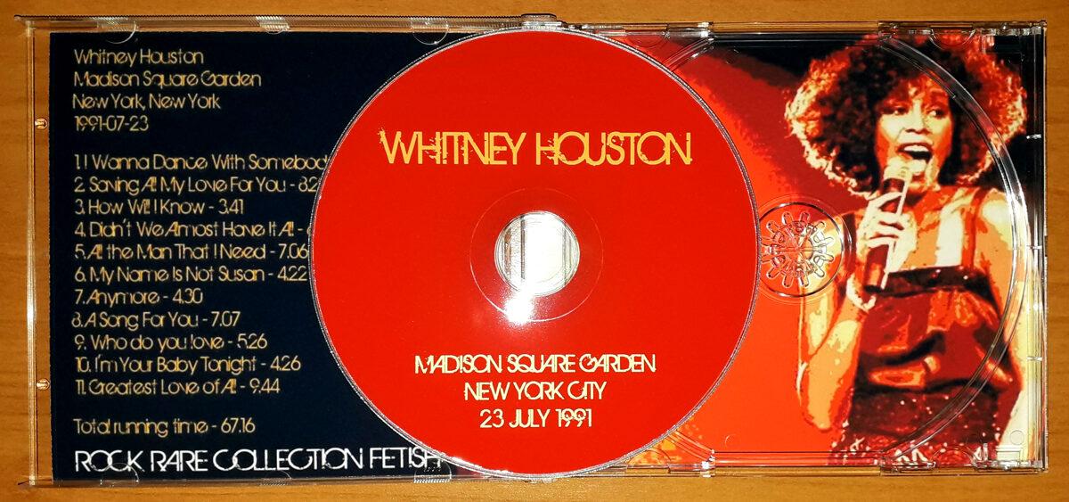 Whitney Houston - Madison Square Gardens New York City 23 July 1991