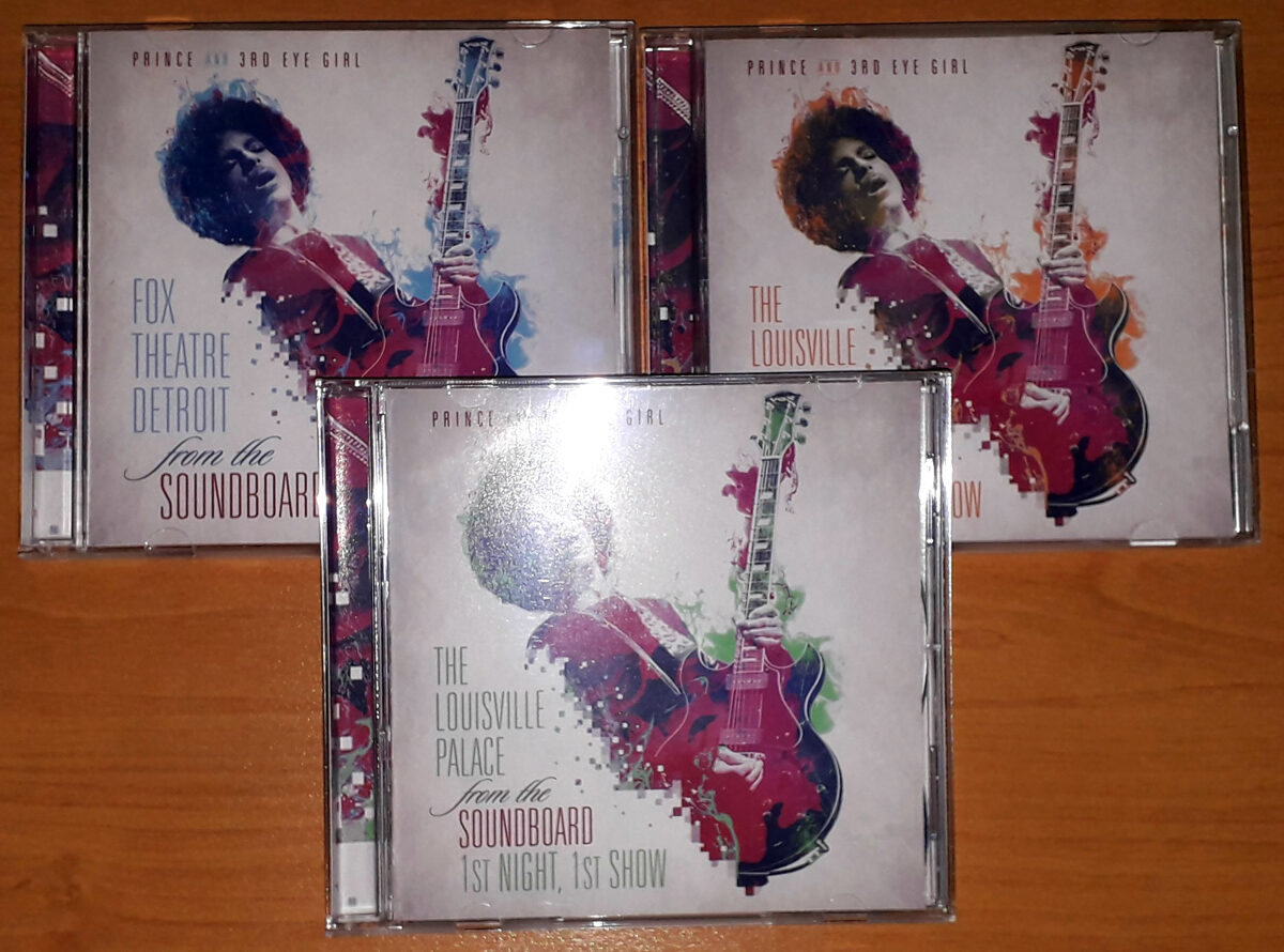 Prince - Hit 'N Run From The Soundboard Vol. 1, 2 and 3 5CD Set