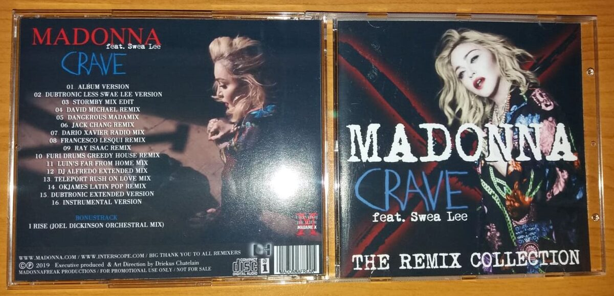 Madonna - Crave (The Remix Collection)