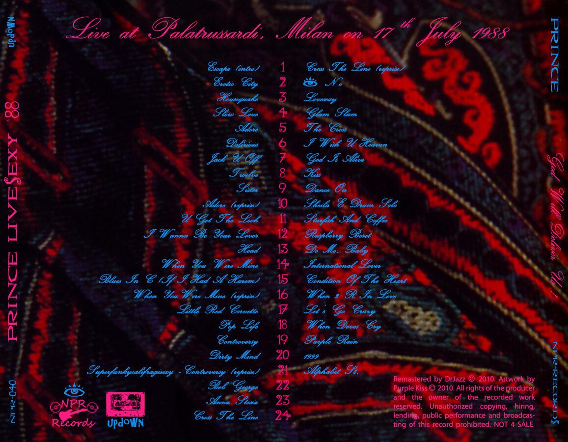 Prince - God Will Deliver Us! 2CD