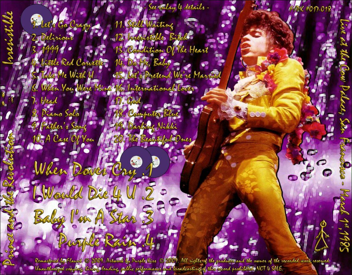 Prince - Irresistible 2CD