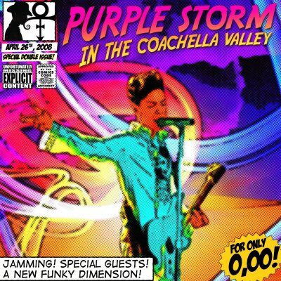 Prince - Purple Storm In The Coachella Valley 2CD