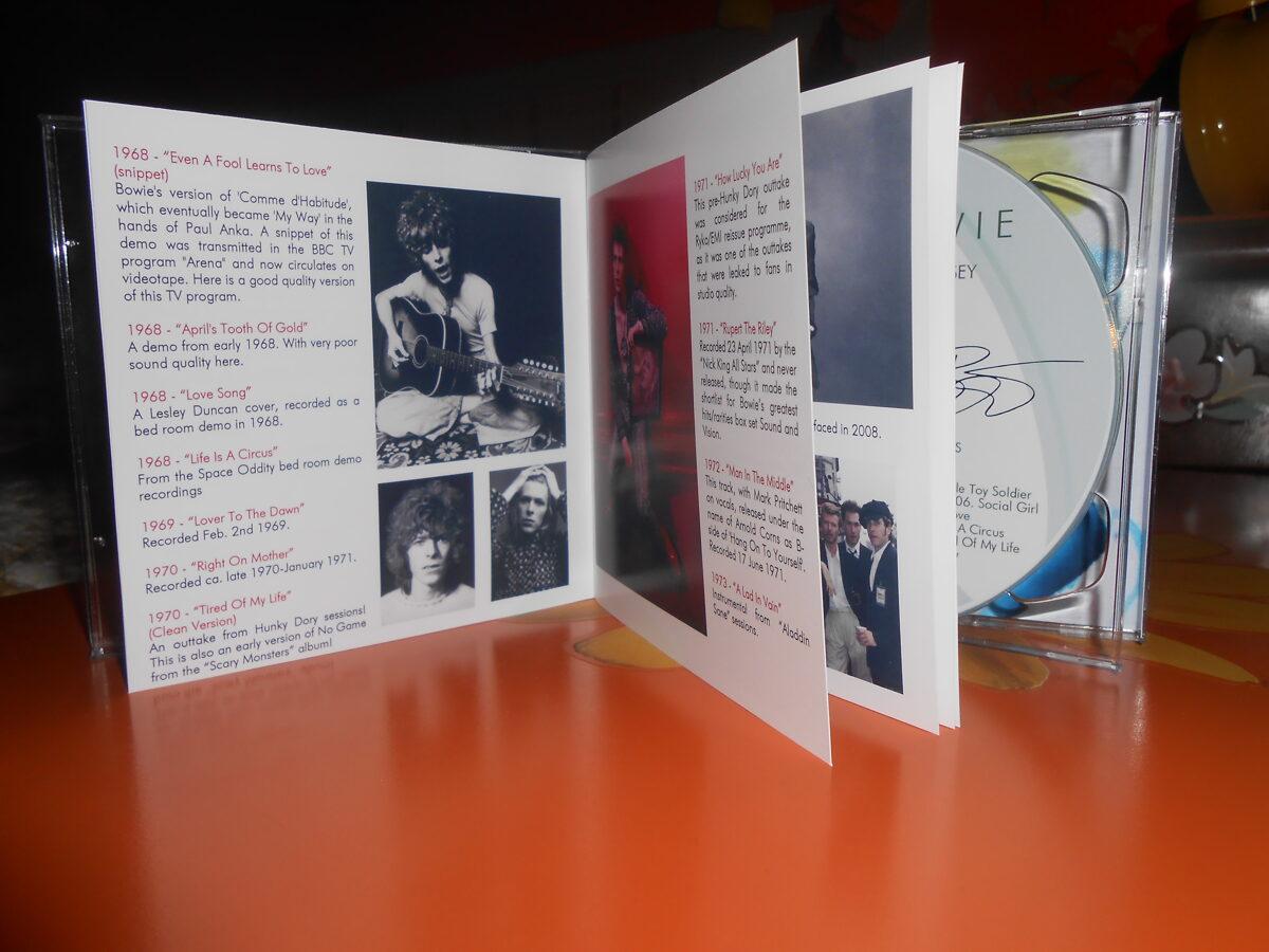 David Bowie - 2016 A Rare Tracks Odyssey (The Demos & Rarities) 2CD