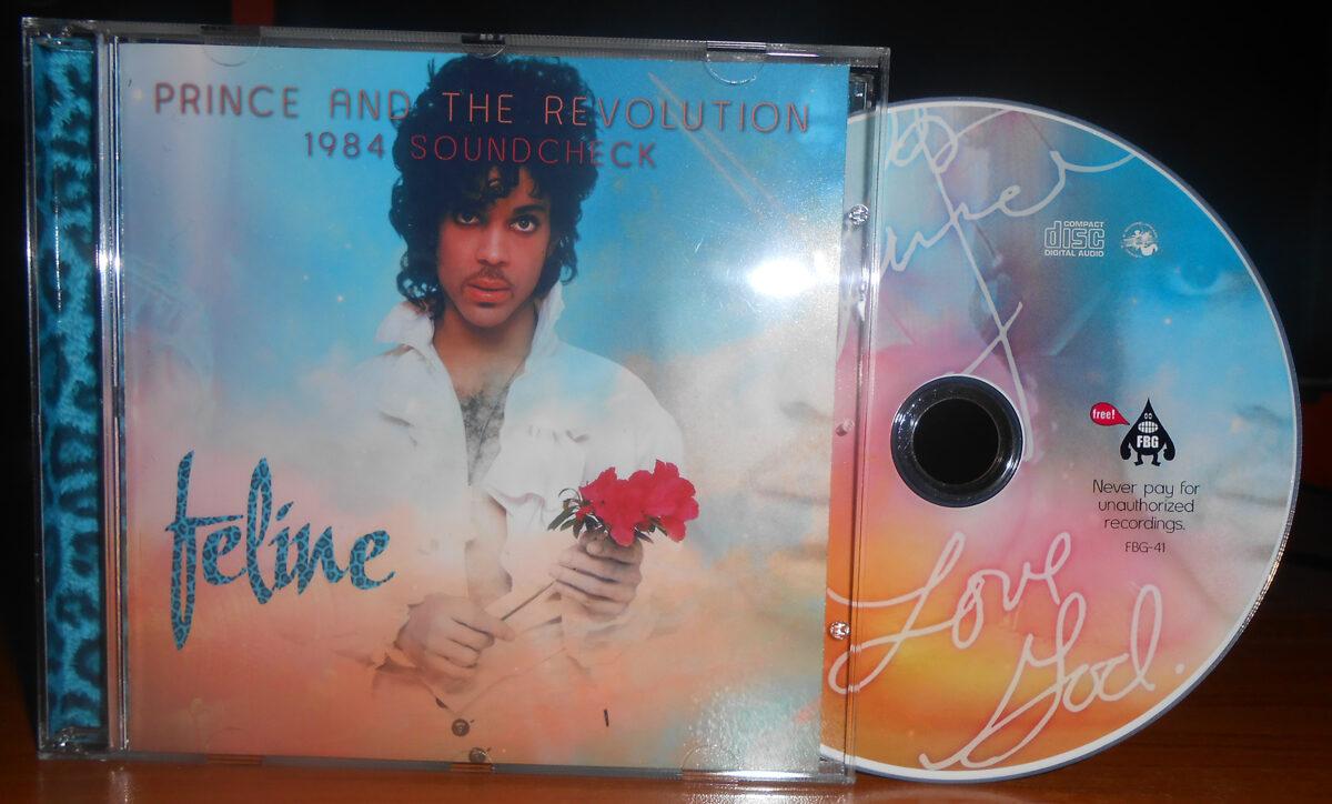 Prince - Feline: 1984 Soundcheck