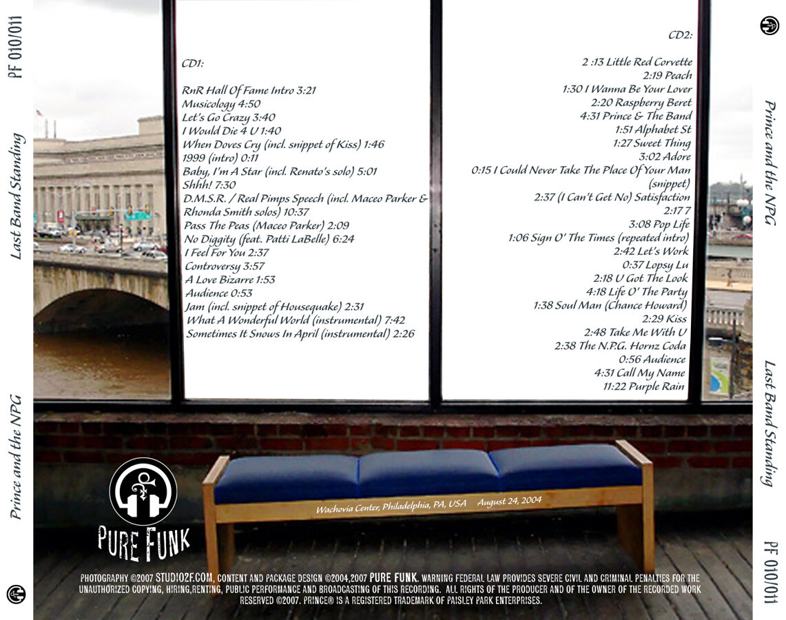 Prince - Last Band Standing 2CD