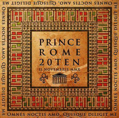 Prince - Rome 20Ten 2CD