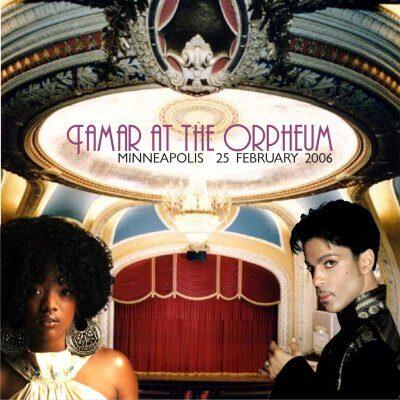 Prince - Orpheum: Tamar Featuring Prince 2CD
