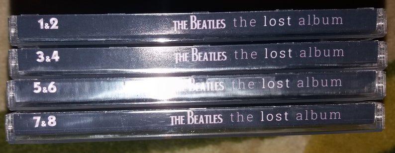 Beatles - Lost Album 4 x 2CD