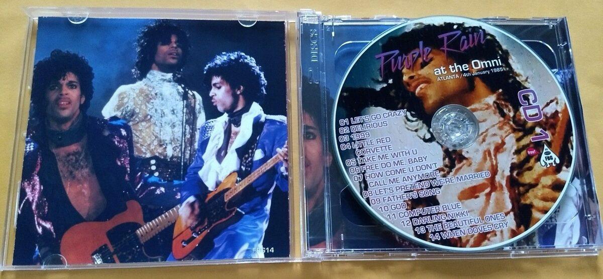 Prince - Purple Rain At The Omni 2CD