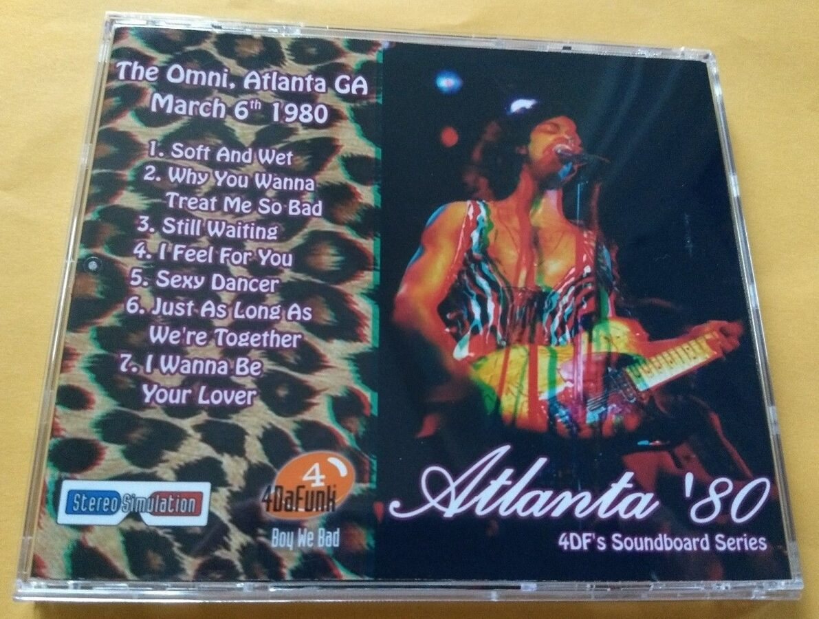 Prince - Atlanta '80